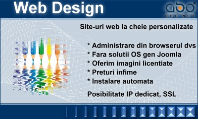 Web Design BUSINESS Web gazduire hosting romania .ro .net